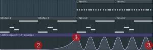 Автоматизация в плейлисте FL Studio