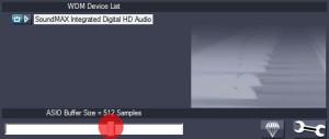 Изменение величины буфера ASIO4All звуковой карты