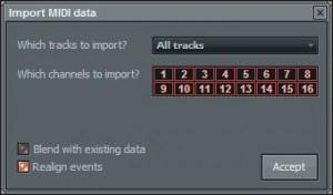 Импорт MIDI в FL Studio